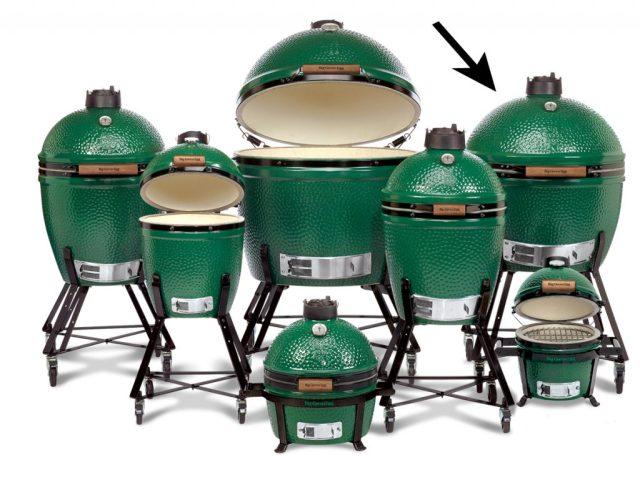 Det här är olika versioner/storlekar på en Big Green.