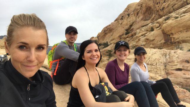 Precis som förra året kommer jag antagligen att spendera en hel del tid i Las Vegas. Här sitter jag tillsammans med några av mina nyfunna vänner!